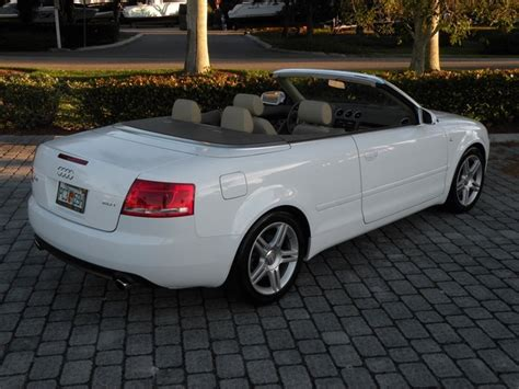 2008 Audi A4 Convertible by 2008 Audi A4 2 0t Convertible Fort Myers Florida For Sale