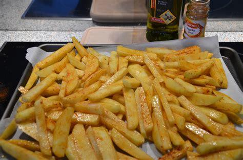 frites maison au four sevencuisine