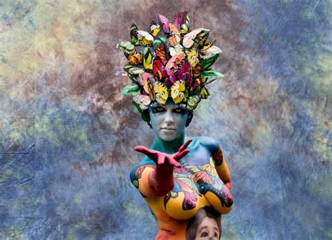 The 20th World Bodypainting Festival Kicks In Austria