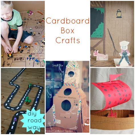 cardboard box crafts for 25 recycled crafts for