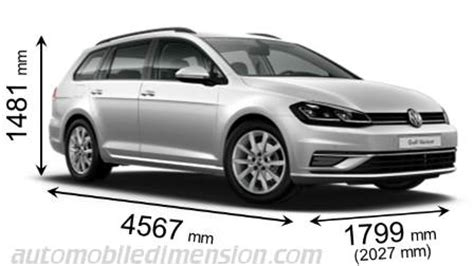 Volkswagen Golf Dimensions by Vw Golf Wagon Dimensions Auto Cars