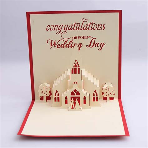 how to make a origami pop up card bridegroom 3d wedding card creative kirigami