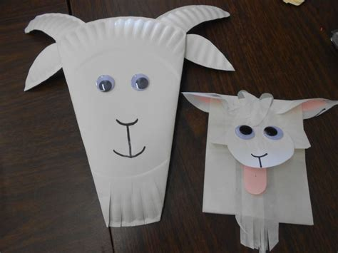 goat paper plate craft 17 best images about early years on