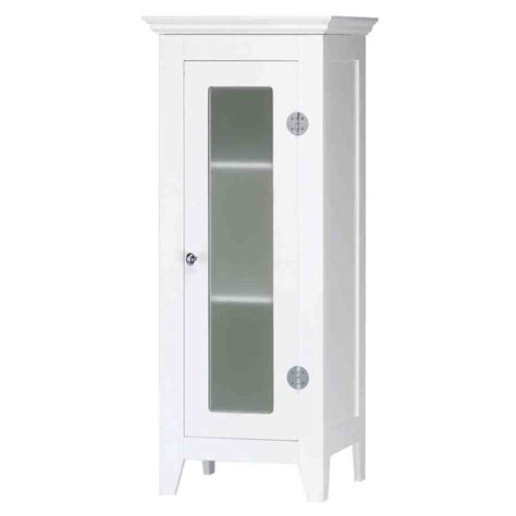 White Bathroom Floor Storage Cabinet by Small White Bathroom Floor Cabinet Home Furniture Design