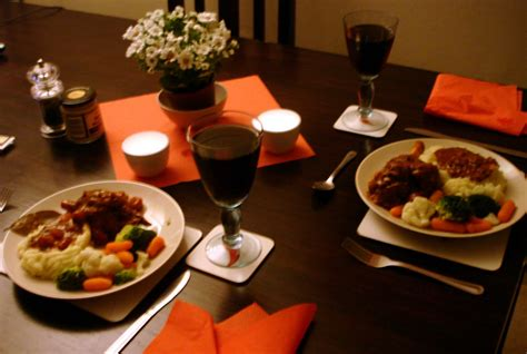 dinner for creative cooking with muriel shanks in wine