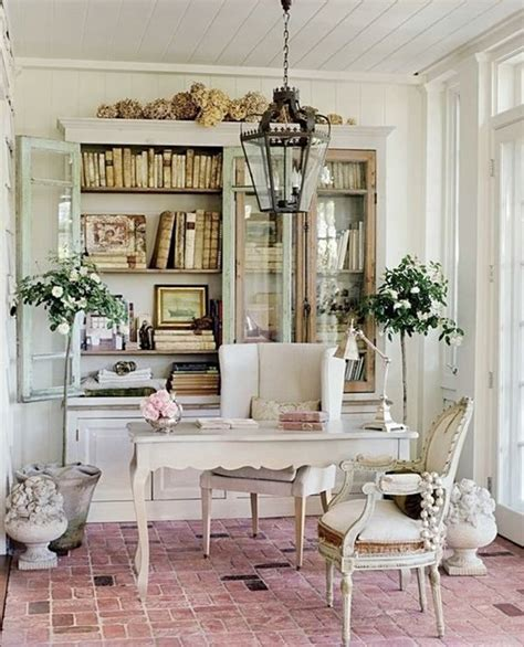 shabby chic home office of me