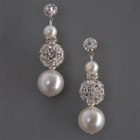jewelry earrings stella bridal jewelry earrings wedding by camillachristine