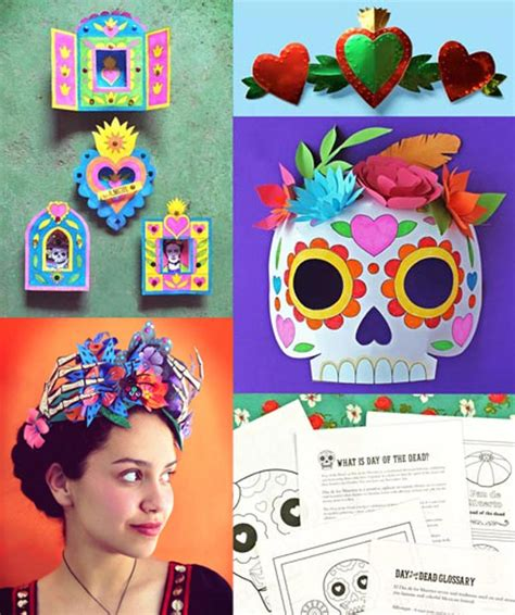 dia de los muertos crafts for printable activities learn and play day of the dead