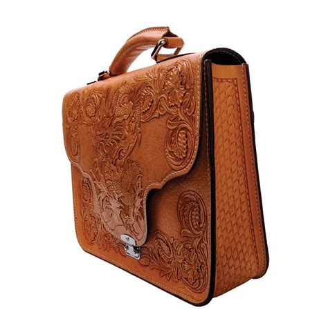 Mousai Leather Craft Briefcase Leder Leathercraft