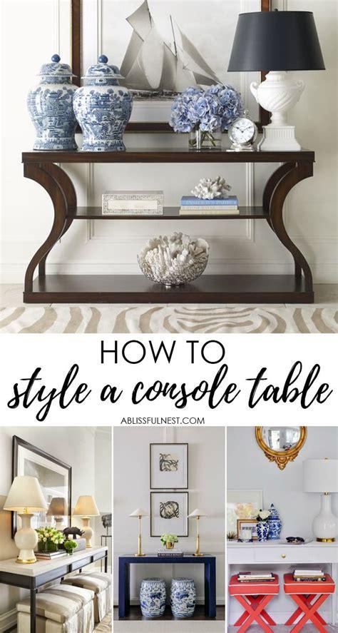 console table decor best 25 console table decor ideas on foyer