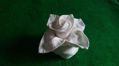 Flower In Vase Towel Design Home Decorating