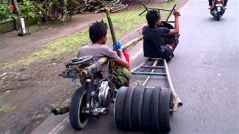 Modifikasi Vespa Tikus by Sepeda Motor Unik
