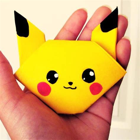 pikachu origami origami pikachu