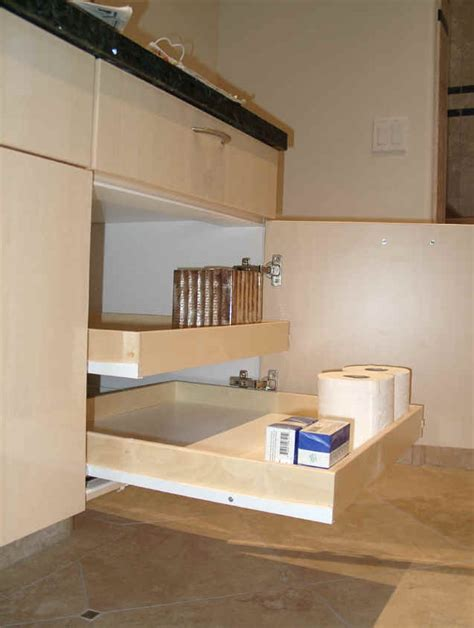 bathroom cabinet pull out shelves pull out shelving for bathroom cabinets storage solution