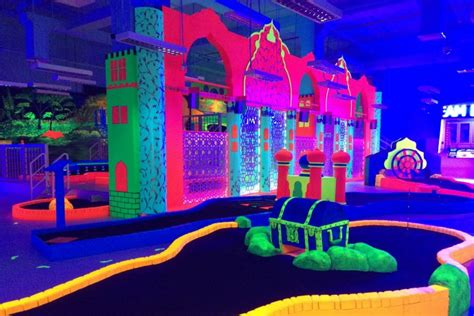 glow in the paint abu dhabi glow in the mini golf in abu dhabi