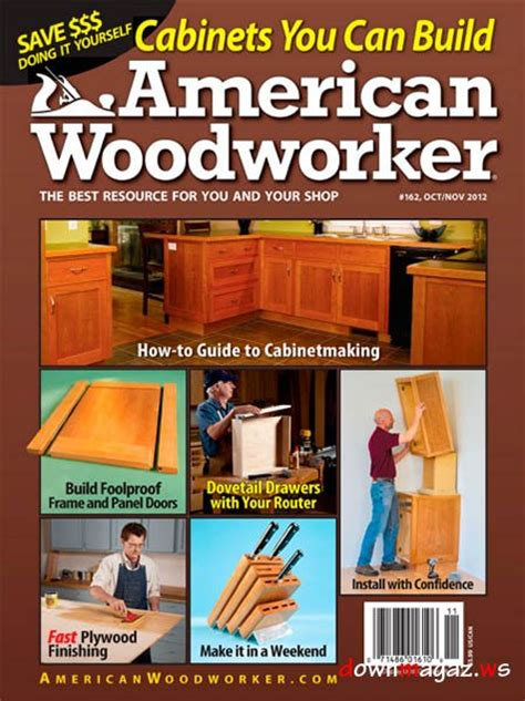 american woodworker american woodworker 162 magzine october november 2012