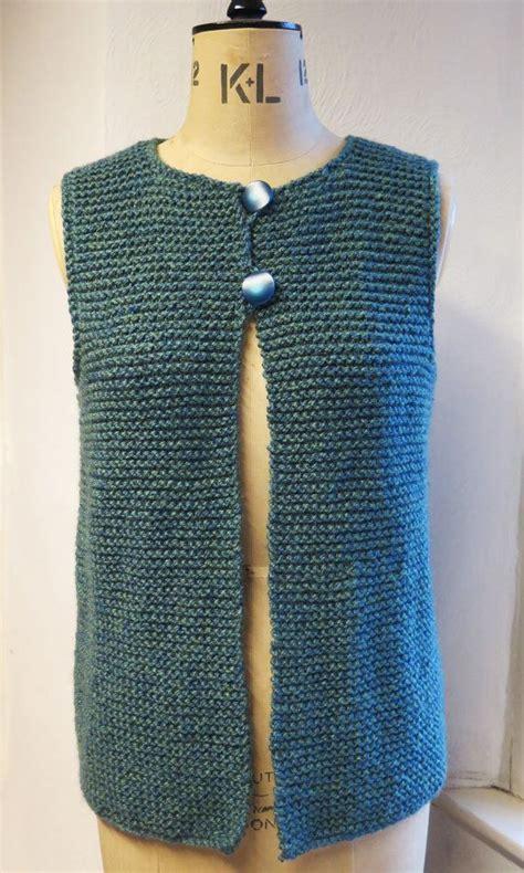 easy knit vest free patterns 17 best ideas about knit vest pattern on knit