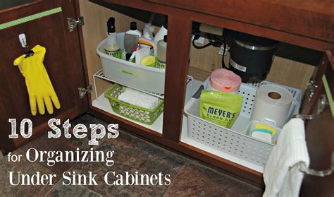 how to organize the kitchen sink 10 steps for organizing sink kitchen cabinets
