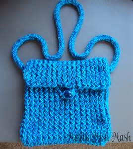 how to knit a purse loom knitted messenger bag melli s mish mash