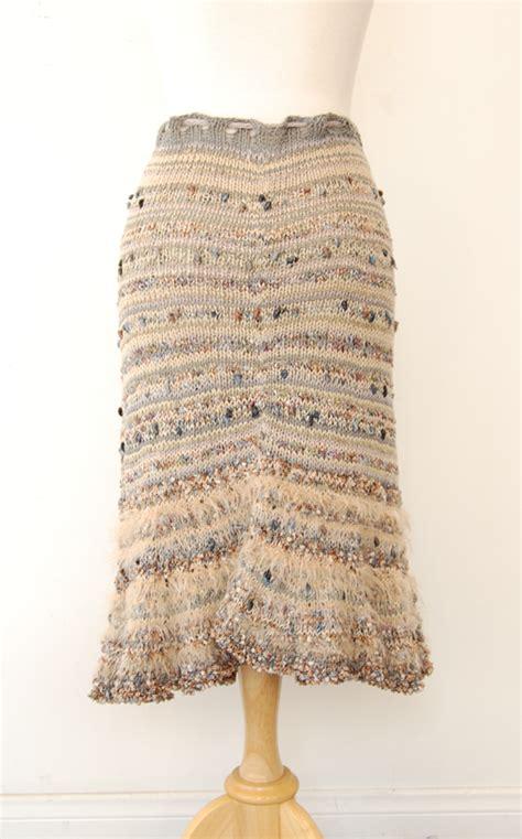 knitted skirt pattern knits los angeles missoni like skirt knit