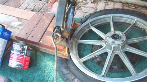 tire bead seal harley using tire bead sealer