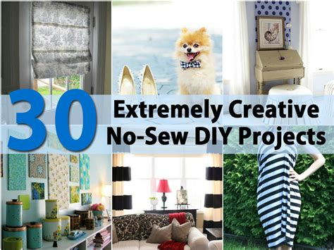 no sew craft projects 30 extremely creative no sew diy projects page 2 of 3