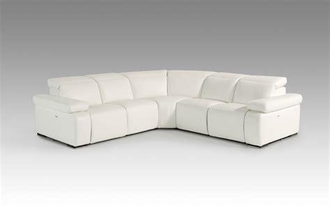white leather sofa sectional estro salotti hyding modern white italian leather