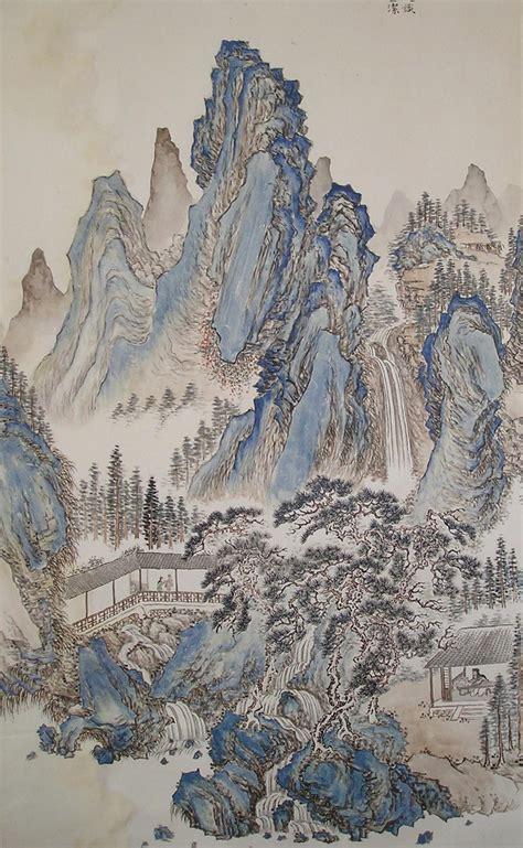 chino painting in china pinturas chinas th3squirr3l imp sumi e