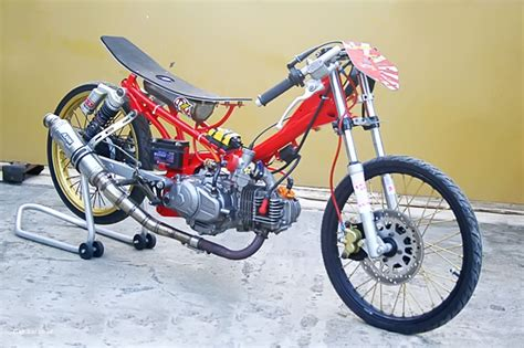 Gambar Modifikasi Motor Drag by Foto Motor Drag Jupiter Z Terbaru Onvacations Image