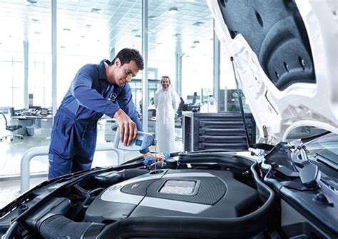 Mercedes A Service by Services Explained Mercedes Middle East