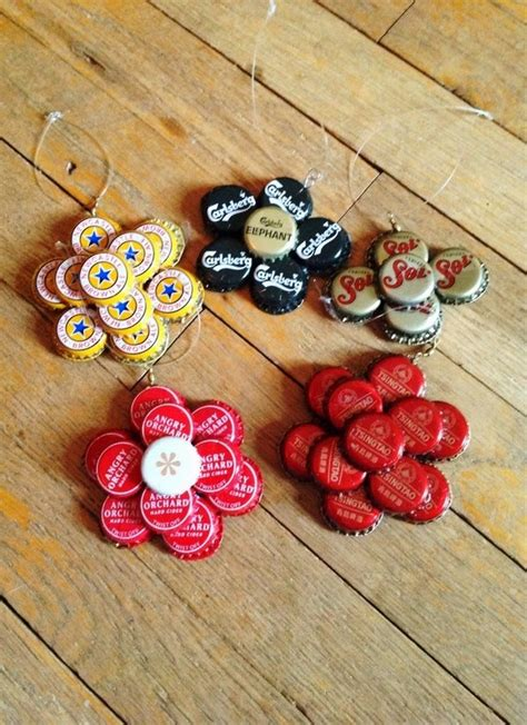 Bottle Cap Craft Project Craft Gift Ideas