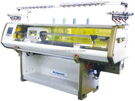 knitting machine service richpeace automatic flat knitting machine purchasing