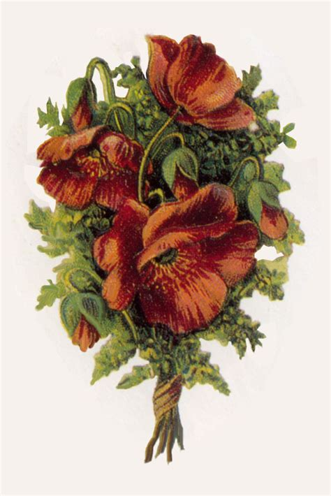 Artbyjean Paper Crafts Vintage Decoupage Prints In Florals