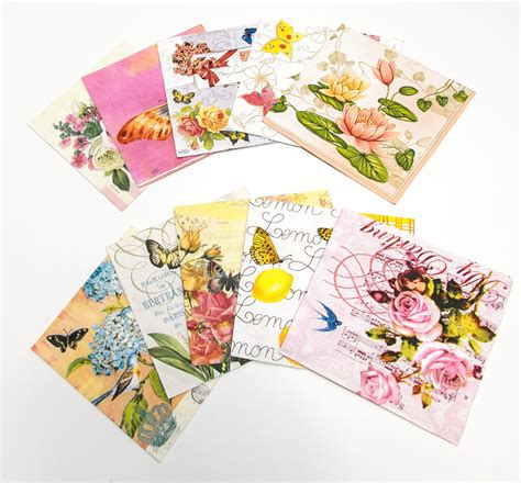 decoupage paper napkins decorative paper napkins for decoupage or other by tilissimo