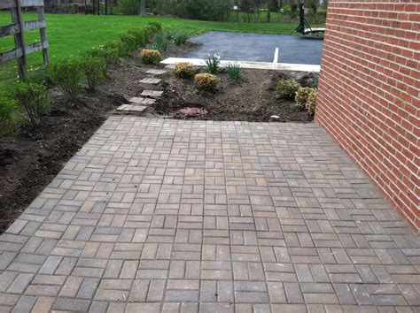 patios with pavers paver patios installation landscape services