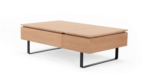 functional coffee tables flippa functional coffee table with storage oak made