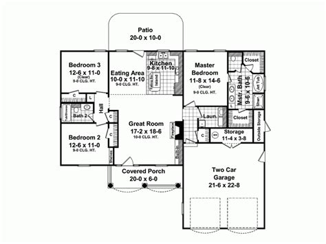 Craftsman Style Open Floor Plans eplans bungalow house plan charming brick bungalow