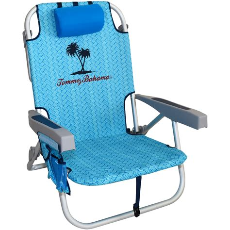 Backpack Chairs Walmart by Tommy Bahama Backpack Cooler Chair Blue Palm By Rio