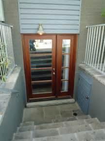outdoor basement doors basement entrance design home decoration live
