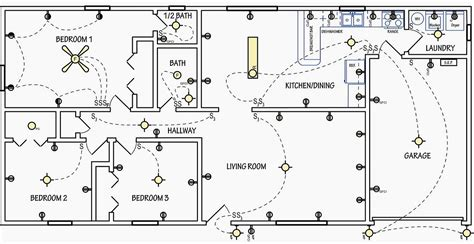 floor plan with electrical symbols electrical symbols are used on home electrical wiring