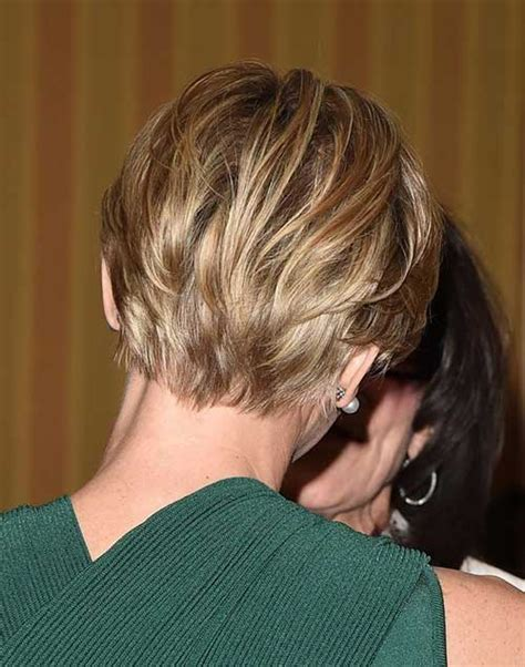 views of back of medium hairstyles back view of short haircuts 2 back view of short haircuts