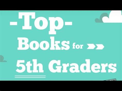 picture books for fifth graders top 5th grade reading list best books