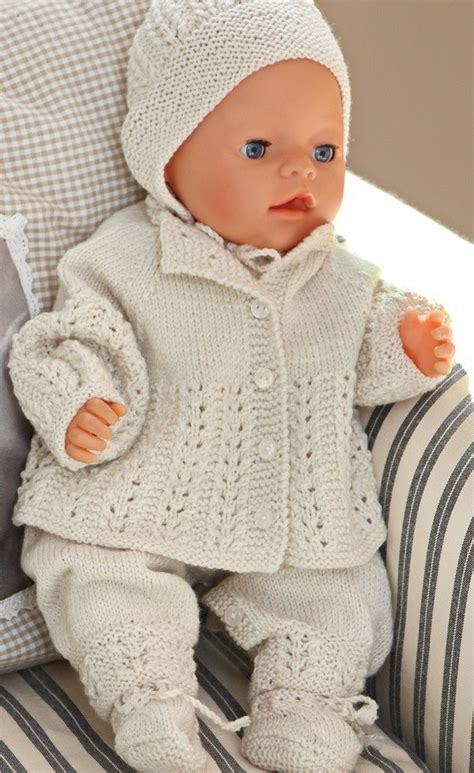 Free Knitting Patterns For Baby Dolls Clothes Uk