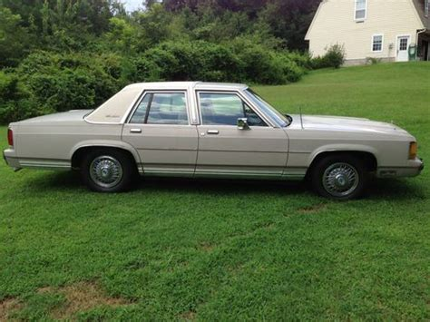 manual cars for sale 1988 ford ltd crown victoria electronic throttle control buy used 1988 ford ltd crown victoria lx less than 92 000 miles in taylors south carolina