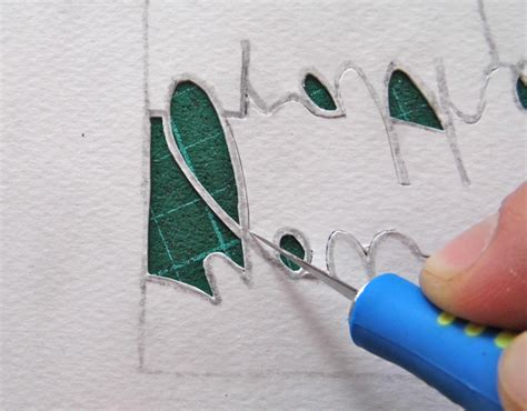 cut paper craft paper cutting fundamentals how to cut tricky letters