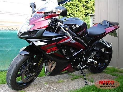 2006 Suzuki Gsxr 750 Specs by Suzuki Gsx R 750 2006 Specs And Photos