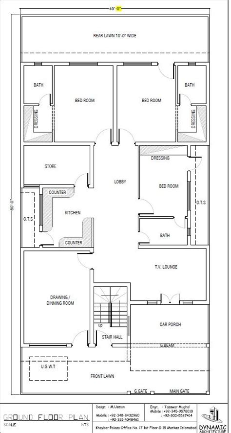 draw house plans house plan drawing 40x80 islamabad design project house plans house and plan