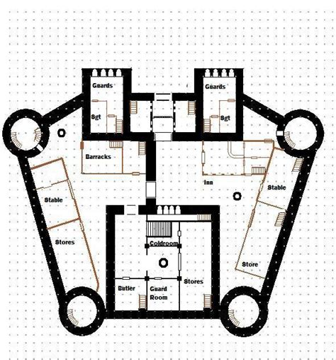 How To Read Floor Plans floor plans of keep at goblinfell pass rpgnetwiki