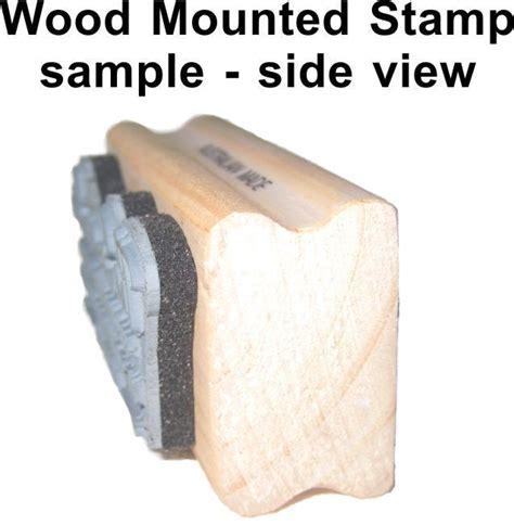 custom wood mounted rubber sts st custom made rubber st on wood mount australia