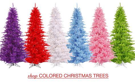 colorful artificial trees artificial trees santa s quarters